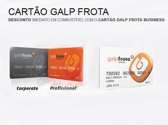 Cartão Galp Frota Business